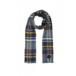 Woven scarf with check pattern by s.Oliver Red Label