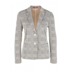 Sweatblazer mit Hahnentritt-Jacquard by s.Oliver Red Label