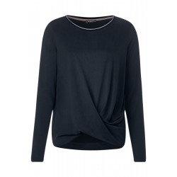 Shirt mit Knotendetail by Street One
