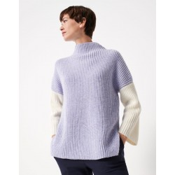Pull en maille Tamega moulinee by someday