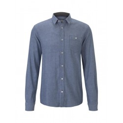 1015319 ray cosy dobby structure shirt by Tom Tailor
