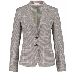 Blazer with a Prince of Wales check by Gerry Weber Collection