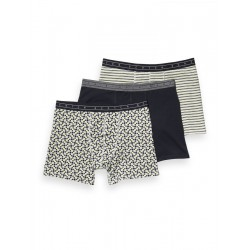 3-pack boxer shorts made of cotton by Scotch & Soda