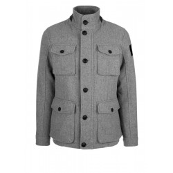Wool blend field jacket by s.Oliver Red Label