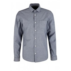 Slim: stretch cotton shirt by s.Oliver Red Label