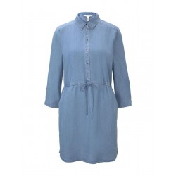 Mini denim shirt dress by Tom Tailor Denim