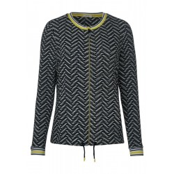 Jacket with zigzag pattern by Cecil