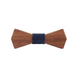 Wooden bow tie by Mr. Célestin
