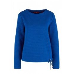 Sweatshirt with a textured pattern by s.Oliver Red Label