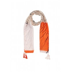Woven scarf with tassels by s.Oliver Red Label