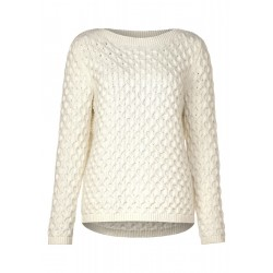 Pullover avec maille tressée by Street One