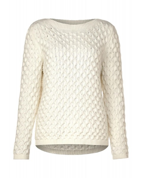 Pullover mit Zopfmuster by Street One