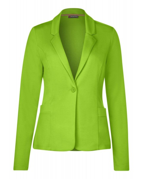 Unifarbener Blazer Jordis by Street One