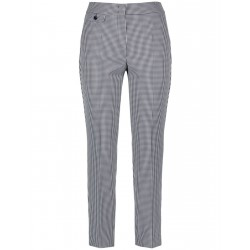 Trousers with gingham checks by Gerry Weber Collection