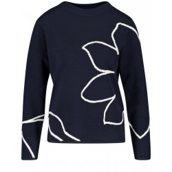 Jumper with an abstract pattern by Gerry Weber Collection