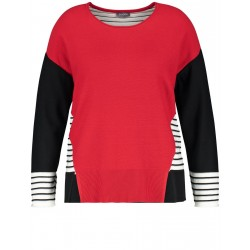 Jumper in a contrast design by Samoon