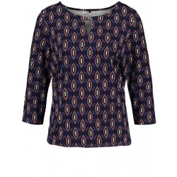 3/4-length sleeve top with an ornamental print by Gerry Weber Casual