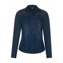 Denim blouse by Street One