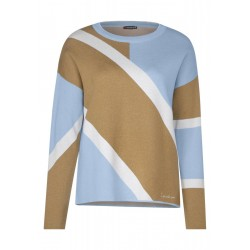 Graphic sweater by Street One