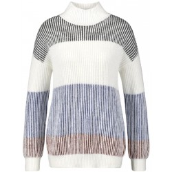 Jumper with block stripes by Gerry Weber Casual