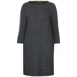 Dress with zigzag pattern by Cecil