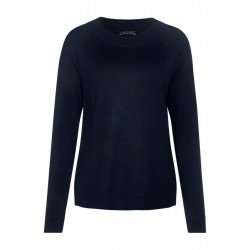 Unifarbener Pullover Gundi by Street One