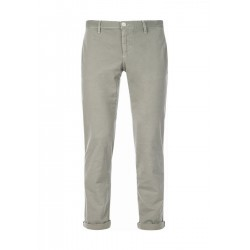 Slim fit chinos in stretch cotton by Alberto Jeans