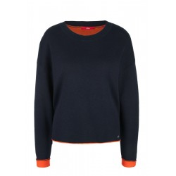 Sweater with contrast details by s.Oliver Red Label