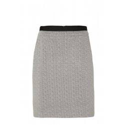 Skirt with a jacquard pattern by s.Oliver Black Label