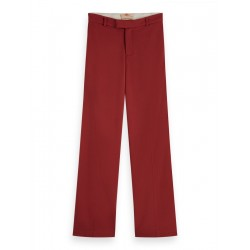 Stretchhose mit weitem Bein by Maison Scotch