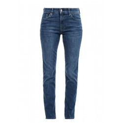 Slim Fit: Slim leg-toile de jean by s.Oliver Red Label