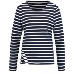 Striped long sleeve top by Gerry Weber Casual