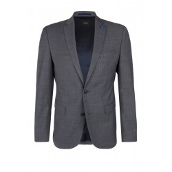 Slim Fit: Sports jacket in a new wool blend by s.Oliver Black Label