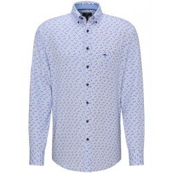 Casual fit: patterned shirt by Fynch Hatton