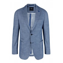 Slim Fit: jacket with a woven texture by s.Oliver Black Label