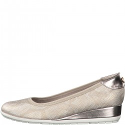 Ballerinas with wedge heel by s.Oliver Red Label