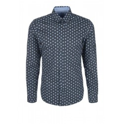 Slim: patterned shirt by s.Oliver Red Label