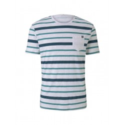 Striped T-shirt by Tom Tailor