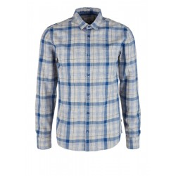 Check flannel shirt by Q/S designed by