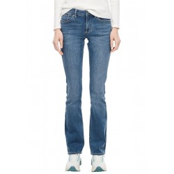 Slim Fit: Bootcut leg-Denim délavé by s.Oliver Red Label