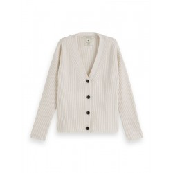Cardigan en grosse maille by Maison Scotch