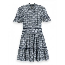 Robe imprimée en viscose by Maison Scotch