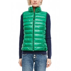 Quilted high-neck body warmer by Q/S designed by