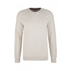 Pullover mit Ripp-Details by s.Oliver Red Label
