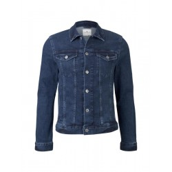 Denim veste with patch pockets by Tom Tailor