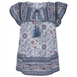 Bluse mit Etho-Print by Pepe Jeans London