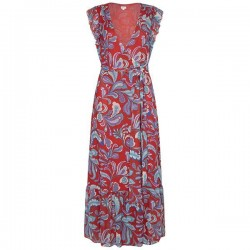 Maxi dress with floral print by Pepe Jeans London
