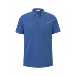 Patterned polo by Tom Tailor