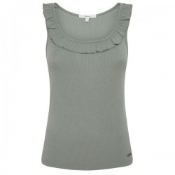 Top mit Volant-Ausschnitt by Pepe Jeans London