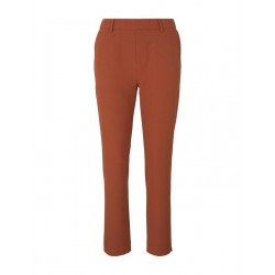 Trouser with two slanted front pockets by Tom Tailor Denim